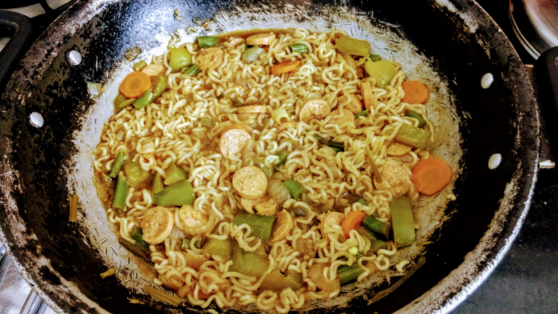 Loaded Noodles